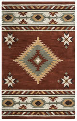 Rizzy Southwest Su-1822 Rust Area Rug