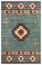 Rizzy Southwest Su2008 Grey Blue Area Rug