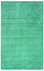 Rizzy Technique Tc-8577 Blue - Dark Teal Area Rug