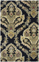 Rizzy Valintino Vn-249a Black Area Rug