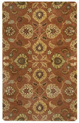 Rizzy Valintino Vn9453 Rust Area Rug