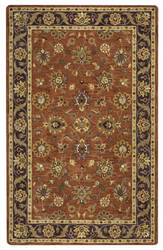 Rizzy Valintino Vn-9456 Rust Area Rug
