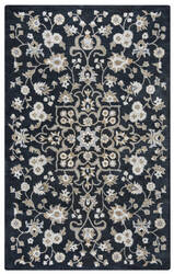 Rizzy Valintino Vn-9534 Black Area Rug