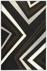 Rizzy Xcite Xi6936 Black Area Rug