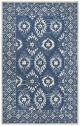 Rizzy Zingaro Zi017b Blue Area Rug