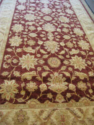 Rugstudio Sample Sale Ult-138 Burgundy - Beige Area Rug