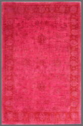 Rugstudio Overdyed 449415-616 Pink Area Rug