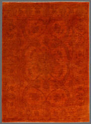 Rugstudio Overdyed 449428-616 Orange Area Rug