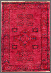 Rugstudio Overdyed 449452-616 Red Area Rug
