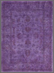 Rugstudio Overdyed 449455-616 Purple Area Rug