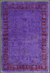 Rugstudio Overdyed 449464-616 Purple Area Rug