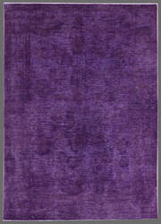 Rugstudio Overdyed 449471-616 Purple Area Rug