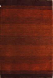 Rugstudio Sample Sale Rainbow Rust - Plum Area Rug