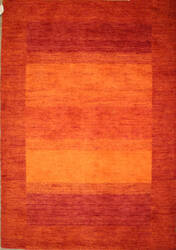 Rugstudio Sample Sale Box Border Rust Area Rug