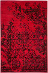 Safavieh Adirondack Adr101f Red - Black Area Rug