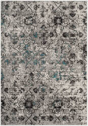 Safavieh Adirondack Adr135c Grey - Black Area Rug