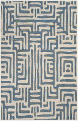 Safavieh Amsterdam Ams106c Ivory - Light Blue Area Rug