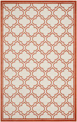 Safavieh Amherst Amt412f Ivory / Orange Area Rug