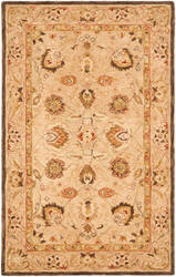 Safavieh Anatolia AN521A Green / Gold Area Rug
