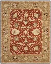 Safavieh Anatolia AN512G Rust / Green Area Rug