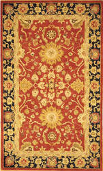 Safavieh Anatolia AN517A Red / Navy Area Rug