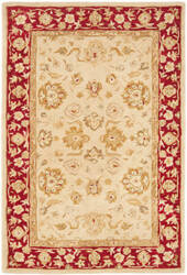 Safavieh Anatolia AN522C Ivory - Red Area Rug