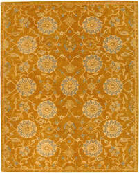 Safavieh Anatolia AN537C Gold / Blue Area Rug