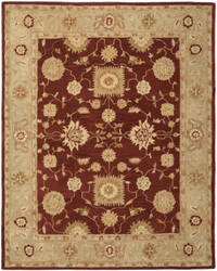 Safavieh Anatolia An556f Red / Sage Area Rug
