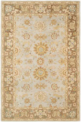 Safavieh Anatolia An557a Teal / Brown Area Rug