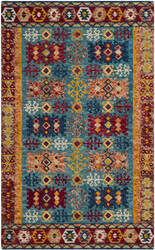 Safavieh Aspen Apn503a Blue - Red Area Rug