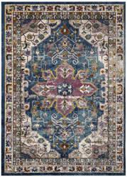Safavieh Aria Ara160b Blue - Creme Area Rug