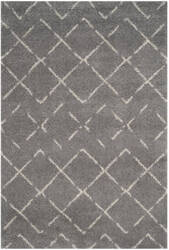 Safavieh Arizona Shag Asg743d Grey - Ivory Area Rug