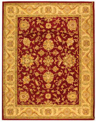 Safavieh Antiquities AT312C Red / Gold Area Rug