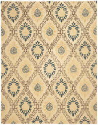 Safavieh Antiquities AT460A Light Gold / Multi Area Rug