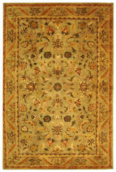 Safavieh Antiquities AT52A Sage / Gold Area Rug