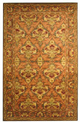 Safavieh Antiquities AT54B Sage / Gold Area Rug