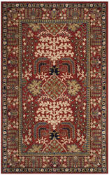 Safavieh Antiquity At64a Red - Multi Area Rug