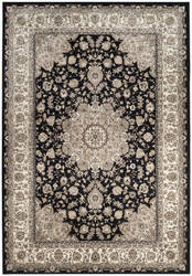 Safavieh Atlas Atl668g Black - Ivory Area Rug