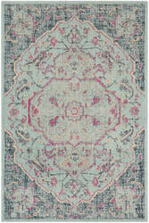 Safavieh Artisan Atn501a Light Blue - Navy Area Rug