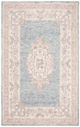 Safavieh Aubusson Aub101m Blue - Pink Area Rug