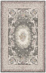 Safavieh Aubusson Aub105h Ivory - Charcoal Area Rug