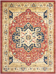 Safavieh Austin AUS1590-4011 Red / Creme Area Rug