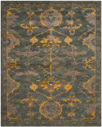 Safavieh Bella Bel671a Blue Grey - Gold Area Rug