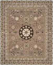Safavieh Bella Bel674b Taupe - Light Grey Area Rug