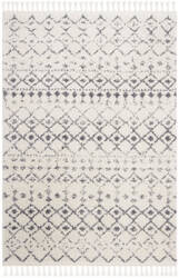 Safavieh Berber Fringe Shag Bfg516a Cream - Dark Grey Area Rug