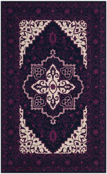 Safavieh Bellagio Blg597a Purple - Ivory Area Rug