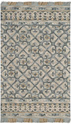 Safavieh Blossom Blm420a Light Beige - Blue Area Rug