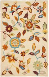Safavieh Blossom Blm677a Beige / Multi Area Rug