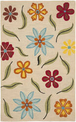 Safavieh Blossom Blm678a Beige / Multi Area Rug