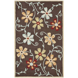 Safavieh Blossom Blm784a Brown / Multi Area Rug